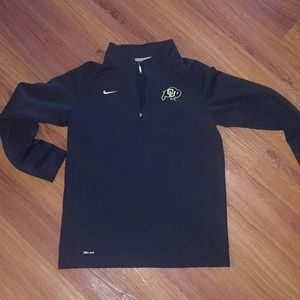 Nike DriFit Colorado Buffaloes 1/4 Zip